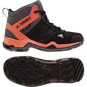 adidas TERREX AX2R ClimaProof Calzado Niños, core black/core black/hi-res orange